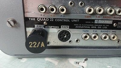 Used, Quad II 22 Pre-amp phono adaptor. Type A  (New UK made) for sale  Shipping to United States