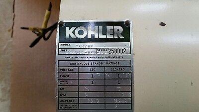Kohler 7rmy 62 Generator Stator Rotor Used Ohm Mega Tested Good