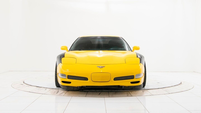 2003 Yellow Chevrolet Corvette Z06  | C5 Corvette Photo 9