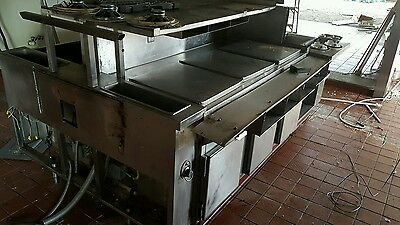 Restaurant Equipment Heat Table Center Oven Stove Cook Cooker Pad Heater Food