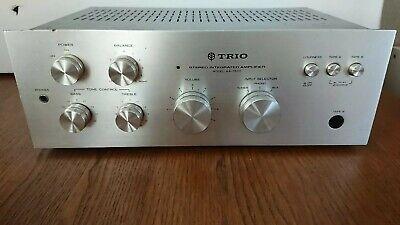 Vintage TRIO KA-1500 Integrated Hi-fi Separates Amplifier Silver Phono Input
