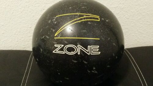 10 Lbs 3.6 Oz 11 Pounds Zone Graphite/black Brunswick Bowling Ball Em38052 Usa