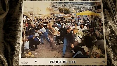 Proof Of Life lobby cards - Russell Crowe, Meg Ryan - Set of 8