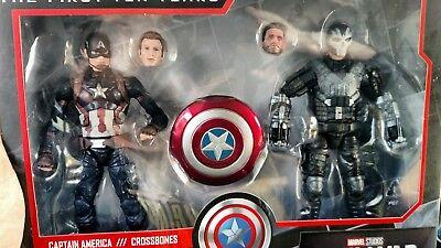 Marvel Legends Studios First Ten 10 Years Civil War Captain America Crossbones