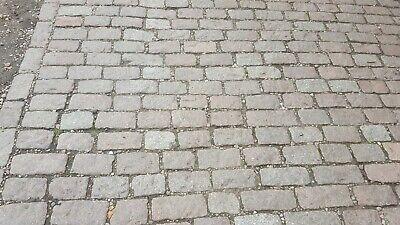 Reclaimed granite setts cobbles cottage garden £1.50 each large stocks courtyard
