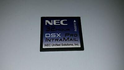 Nec Dsx Pro 40 80 160 1091053 Intramail 8 Port 32 Hr Voicemail Flash Voice Mail