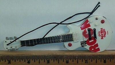 "Seminole Hard Rock Hotel and Casino Tampa 6"" Miniature Electric Guitar Ornament"