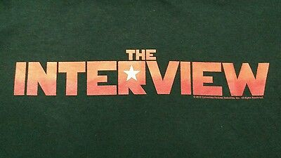 The Interview Movie Shirt Small S Seth Rogen James Franco Randall Park