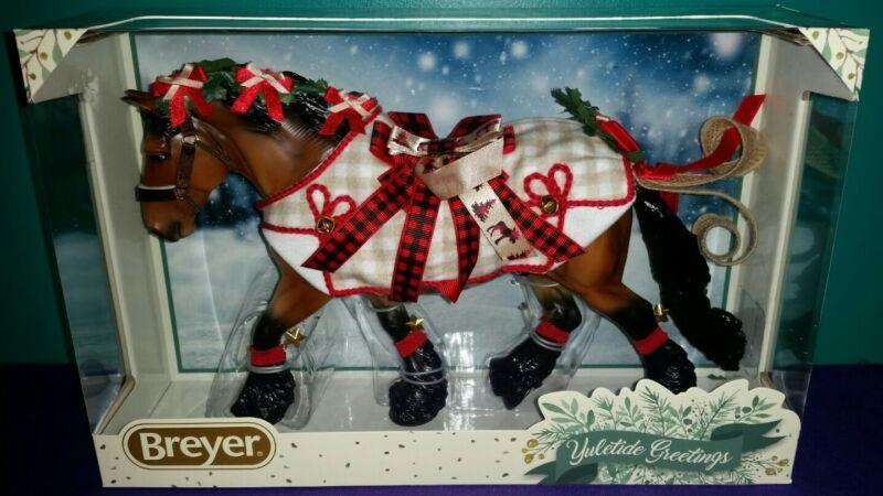 "NIB Breyer Traditional Model #700123 ""Yuletide Greetings"" 2020 Christmas Horse"