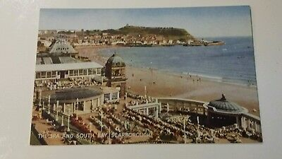 The Spa and South Bay. Scarborough. Postcard