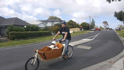 Cargobike zeitbike longhaul custom