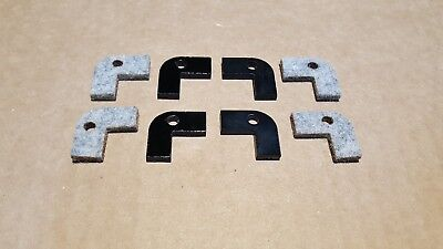 Felt Saddle Wiper Way Set Atlas Craftsman Metal Lathe 10 12 Commercial