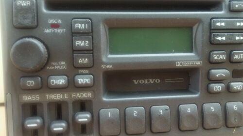 Premium 1998-2000 Volvo S70 V70 C70 Factory Radio ,Cassette, Cd Player Model 816