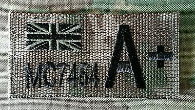 British Army,Royal Marine,Navy,RAF MTP Zap Badge With Velcro Backing