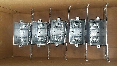 Lot Of 5 Raco 574 Switch Electrical Box 2-34 Deep Gangable Brand New Lqqk