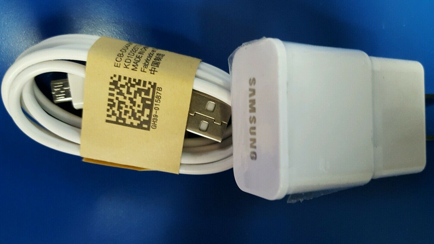 New OEM Samsung Galaxy S6 and S7 fast charger Micro USB Home
