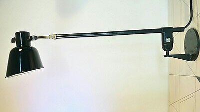 BuR - Bünte & Remmler Bauhaus Wand - Teleskoplampe - 30-er Jahre