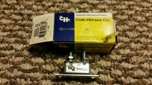 New Cole Hersee Co. 30055-25-BX Type I, 25Amp Circuit Breaker series