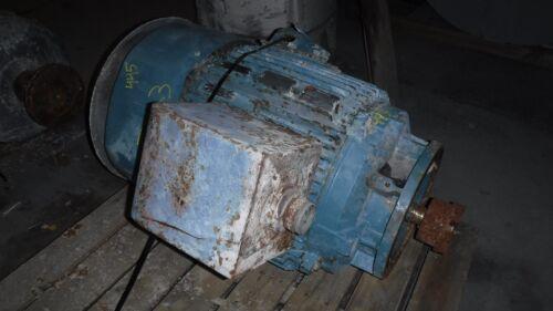 150 Hp Baldor Reliance Electric Motor, 1200 Rpm, 445hp Frame, Tefc, 460 V, Vss