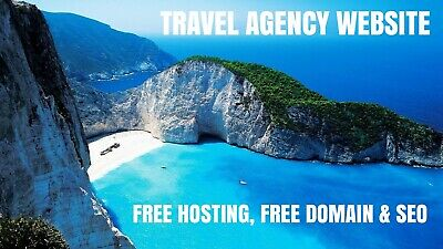 Travel Agency Website Business Free Domain Hosting Seo Included