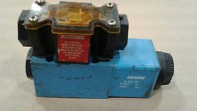 Vickers B02-101 Hydraulic Solenoid Directional Control Valve 008b12