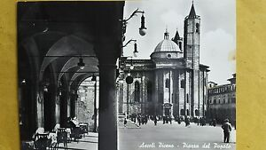 ASCOLI-PICENO-PIAZZA-DEL-POPOLO-VIAGGIATA-ANIMATA-1959