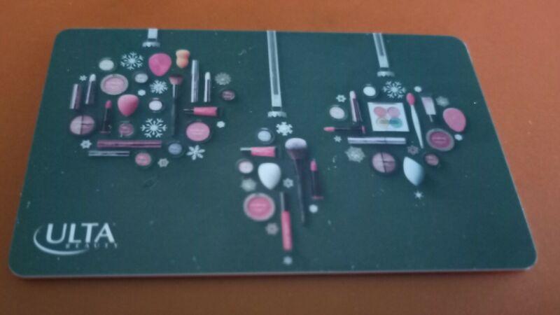 ULTA  Christmas Beauty Ornaments Gift Card, Collectible, Mint, 2021, PVC