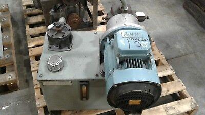Hydraulic Power Unit 3 Phase 6 Hp Abb Motor 20 Gallon 077kw
