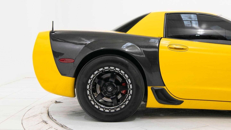 2003 Yellow Chevrolet Corvette Z06  | C5 Corvette Photo 7