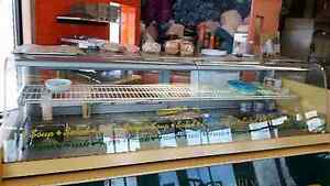 Stainless steel refrigerated deli
