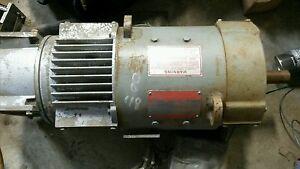 GE Kinamatic 10 hp dc motor 5cd152sa008b001