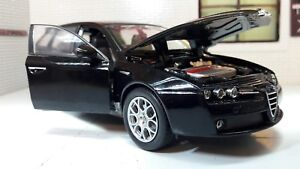1:24 Scale Welly 2007 Alfa Romeo 159 V6 Sportwagon Diecast Detailed Model 22482