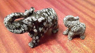 deko elefanten schwarz weiß Muster Unikat einzigartig