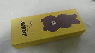 Lamy line brown safari fountain pen 2015 limited edition - sealed