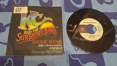 Saturday Night Fever Shoes (Kc and the sunshine band boogie shoes get lifted ost saturday night fever 45)