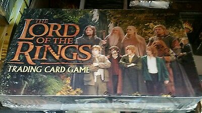 LORD OF THE Rings Fellowship of the Rings BOOSTER Box CCG Factory Sealed Look