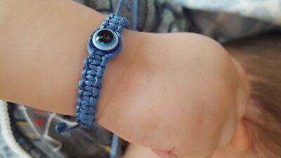 Evil eye bracelet for baby