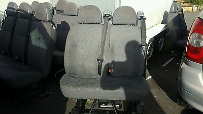 Ford transit minibus seats