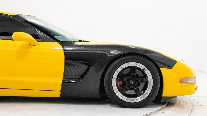 2003 Yellow Chevrolet Corvette Z06  | C5 Corvette Photo 8