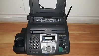 Panasonic Kx-fpg372 Plain Paper Fax Copier Funtion