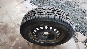 4 studded tires on rims