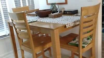 - Tall Kitchen Table with four stools