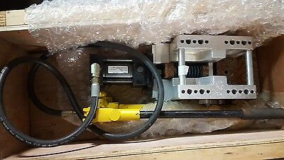 Miller Series Hv3 Hydraulic Cylinder Huntair Grid Notcher Enerpac P39 Pump