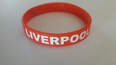 Liverpool FC Silicone Wristband.