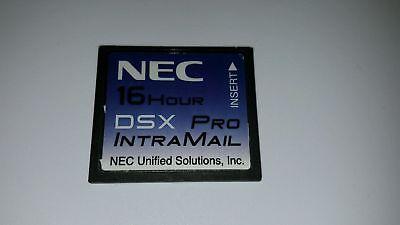 Nec Dsx Pro 40 80 160 1091051 Intramail 4 Port 16 Hr Voicemail Flash Voice Mail
