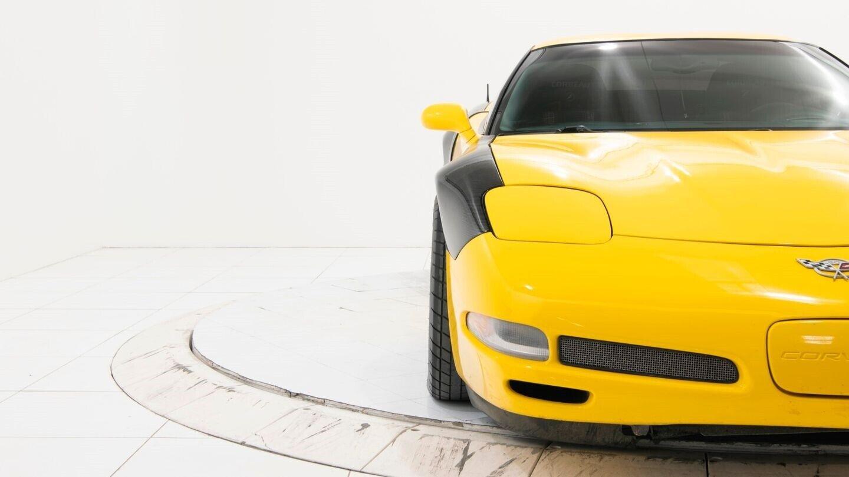 2003 Yellow Chevrolet Corvette Z06  | C5 Corvette Photo 10