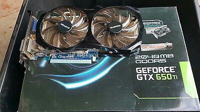 Gigabyte GeForce GTX 650 Ti OC 2GB Gaming Video Card