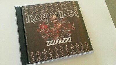 Iron Maiden Double CD Download Donington The Book Of Souls Tour 2016