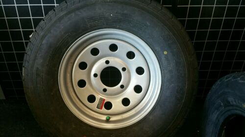 ST185/80R13 TRAILER TIRE/WHEEL ASSEMBLY    -LOW,LOW, PRICE- SEE DETAILS BELOW