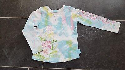 Pampolina T-Shirt Shirt kurzarm Baumwollmischung grün Sommer  Mädchen Gr.104